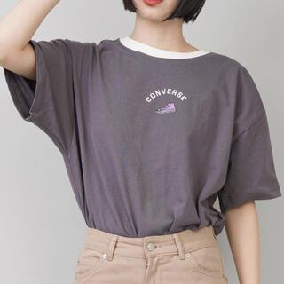 CONVERSE - CONVERSE/コンバース】ワンポイントリンガーTシャツ