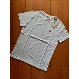 モンクレール(MONCLER)の⭐2022AW/新品 MONCLER   ロゴマークTシャツ ホワイト 14A(Tシャツ(半袖/袖なし))