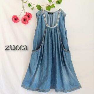 ZUCCa - 【zucca ズッカ】ゆったりデニムワンピース