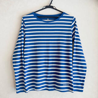 mont bell - モンベル レディース ボーダー Tシャツ カットソー