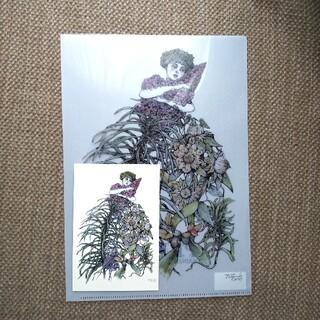 ヒグチユウコ  PLANTS 植物展 コラボグッズ①(クリアファイル)