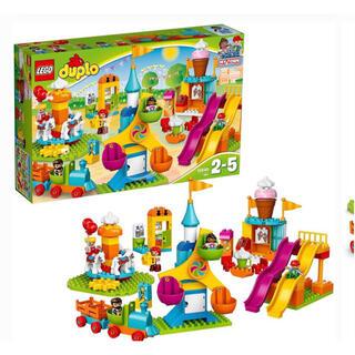 レゴ(Lego)のLEGO レゴ デュプロ みどりのコンテナスーパーデラックス おおきな遊園地(積み木/ブロック)