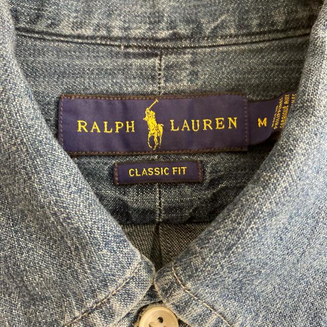 Ralph Lauren(ラルフローレン)のラルフローレン デニムシャツ メンズのトップス(シャツ)の商品写真