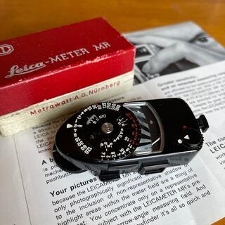 LEICA - Leica Leicameter MR ブラックペイント 未使用品