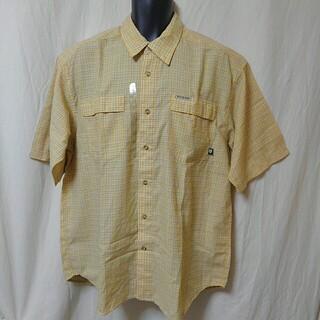 コロンビア(Columbia)のColumbia 半袖 チェックシャツ L デッドストック (シャツ)