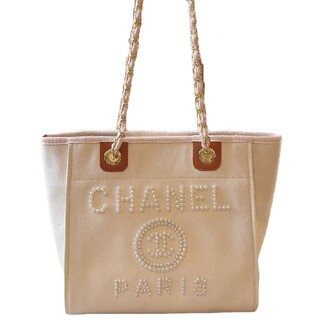 CHANEL - Chanelは年度最も美しい真珠は砂浜かばんを刺繍します