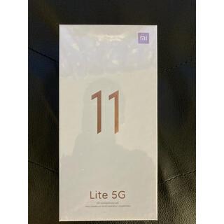 ANDROID - 新品 SIMフリー Xiaomi Mi 11 Lite 5G ブラック 国内版