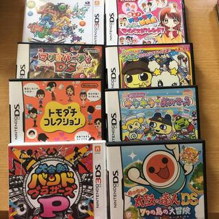 3DS DSソフト まとめ売り 8本(携帯用ゲームソフト)