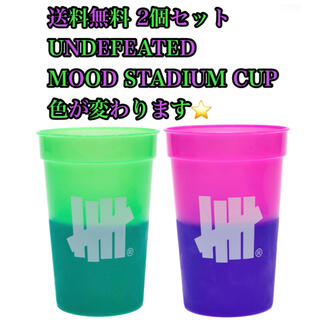 UNDEFEATED -  UNDEFEATED MOOD STADIUM CUP  コップ グラス