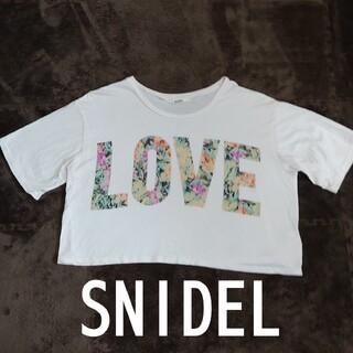 snidel - SNIDEL スナイデル Tシャツ トップス