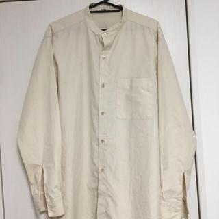 COMOLI - オーラリー  バンドカラーシャツ 4