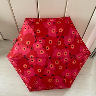 マリメッコ(marimekko)の★マリメッコ★折りたたみ傘 ウニッコ(傘)