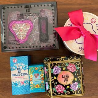 アナスイ(ANNA SUI)の再値下げしました!ANNA SUI コフレセット&香水&ギフト缶(コフレ/メイクアップセット)