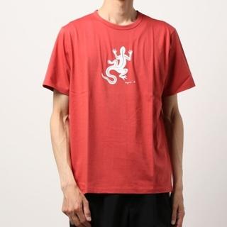 agnes b. - レザールTシャツ(ブラウン系)