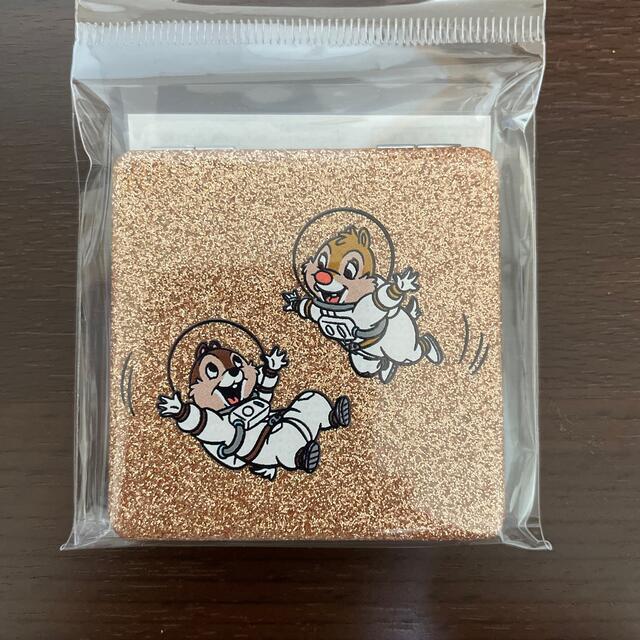 チップ&デール(チップアンドデール)のチップとデール コンパクトミラー エンタメ/ホビーのおもちゃ/ぬいぐるみ(キャラクターグッズ)の商品写真
