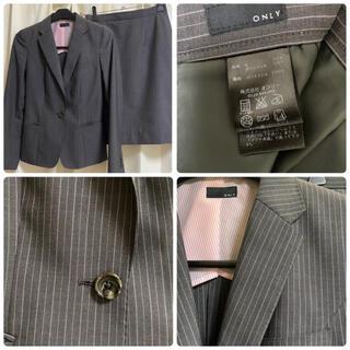 スーツカンパニー(THE SUIT COMPANY)のONLY レディーススカートスーツ上下セット(スーツ)