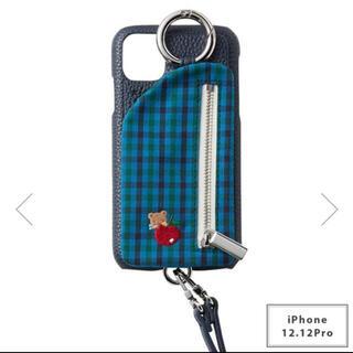 familiar - ajew ファミリア iPhone ケース iPhone12、12pro