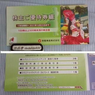常磐興産 日本駐車場開発 株主優待券 1冊ずつ(その他)