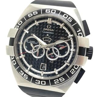 OMEGA - オメガ デイト コンステレーション ダブルイーグル 自動巻き メンズ腕時計