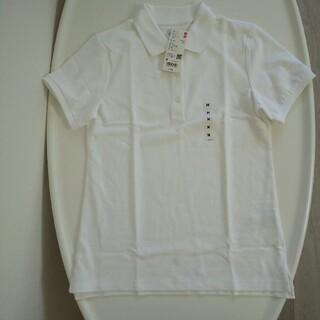 ユニクロ(UNIQLO)の【UNIQLO】レディース Msize ストレッチカノコポロシャツ(ポロシャツ)