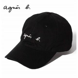 agnes b. - 新品未使用アニエスベー キャップ ブラック