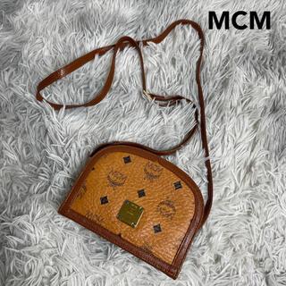 MCM - ●希少●MCM エムシーエム ミニショルダーバッグ オレンジブラウン