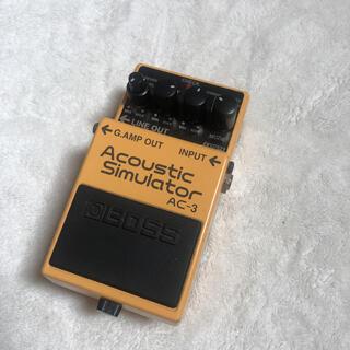 ボス(BOSS)のAC-3 (Acoustic Simulator)(エフェクター)