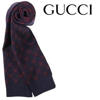 グッチ(Gucci)の正規店購入 GUCCIグッチ アルパカウールマフラー 新品、限定商品 箱付き(マフラー)