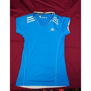 アディダス(adidas)のバドミントン アディダス ウィメンズTシャツ G88758(バドミントン)