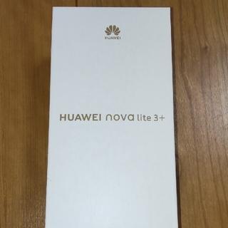 HUAWEI - HUAWEI nova lite 3+ ミッドナイトブラック 128 GB SI