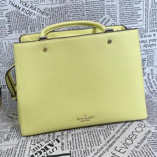 kate spade new york - KATESPADE ケイトスペードハンドバックバッグ黄色イエローショルダーバッグ