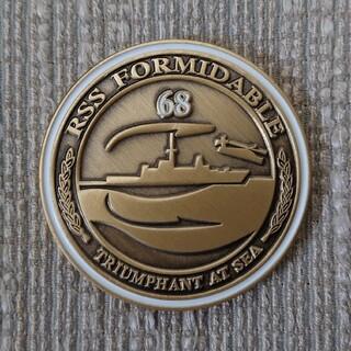 フリゲート艦フォーミダブル シンガポール海軍 チャレンジコイン ミリタリー(その他)