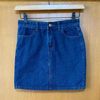 ゴゴシング(GOGOSING)のGOGOSING ゴゴシング デニムスカート ミニスカート 韓国(ミニスカート)
