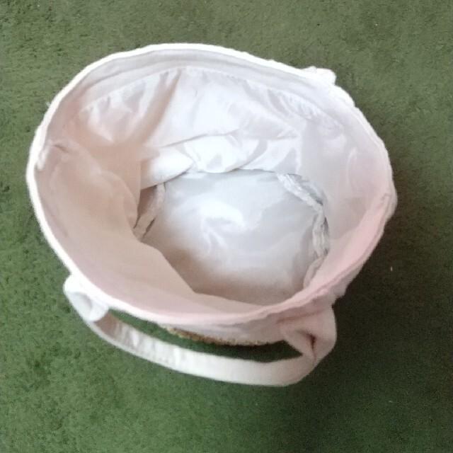 KALDI(カルディ)のカルディ チャーム付き サマーバッグトートバッグ かごバッグ レディースのバッグ(トートバッグ)の商品写真