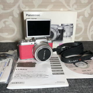 Panasonic - 美品 LUMIX DMC-GF7 ミラーレス一眼レフカメラ デジカメ