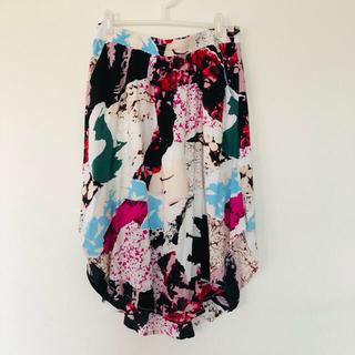 バーニーズニューヨーク(BARNEYS NEW YORK)の日曜までSALE⭐︎import とろみシャツスカート(ロングスカート)