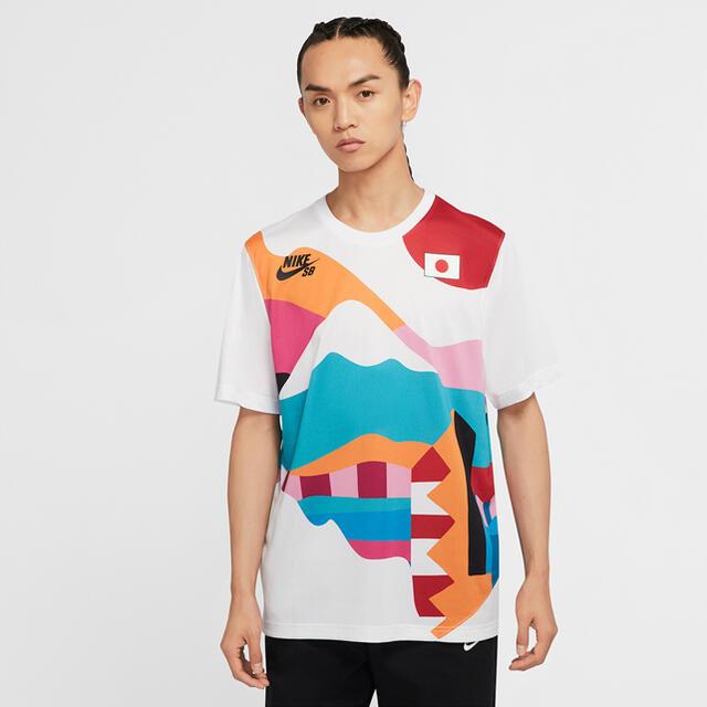 NIKE(ナイキ)のnike sb parra japan 日本ユニフォーム メンズのトップス(Tシャツ/カットソー(半袖/袖なし))の商品写真