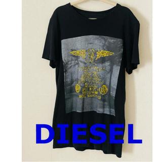 DIESEL - DIESEL ディーゼル 半袖Tシャツ  黒ブラック  XSサイズ