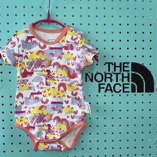 THE NORTH FACE - 美品 NORTH FACE  ノースフェイス ベビーロンパース