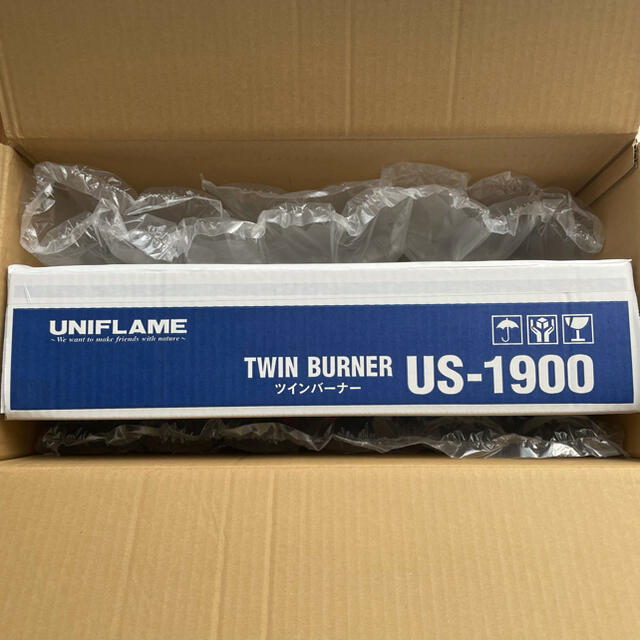 UNIFLAME(ユニフレーム)のユニフレーム / UNIFLAME / ツインバーナー US-1900 スポーツ/アウトドアのアウトドア(ストーブ/コンロ)の商品写真