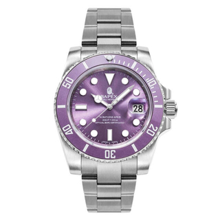 A BATHING APE - BAPE BAPEX® TYPE1腕時計 紫