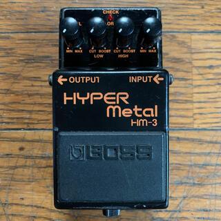 ボス(BOSS)のBOSS HM-3 HYPER Metal ボス ハイパーメタル (エフェクター)