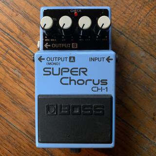 ボス(BOSS)のBOSS CH-1 SUPER Chorus/ボス スーパーコーラス アナログ(エフェクター)
