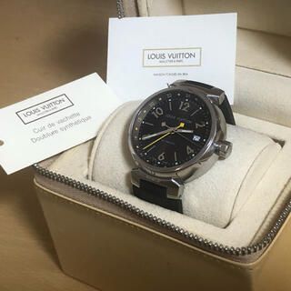 ルイヴィトン(LOUIS VUITTON)のルイヴィトン タンブールGMT Q1131(腕時計(アナログ))