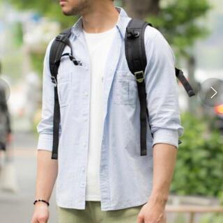 BAYFLOW - ブロード七分袖シャツ/BAYFLOW