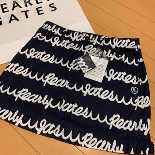 PEARLY GATES - 新品☆パーリーゲイツ PEARLYGATES 波ロゴスカート サイズ0