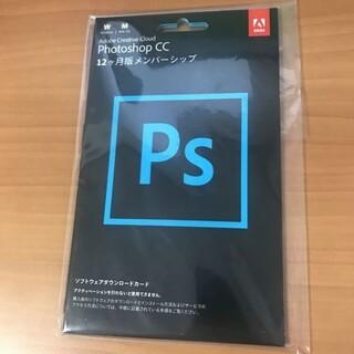 Microsoft - Adobe Photoshop CC 12ヶ月分 正規ダウンロード版 新品