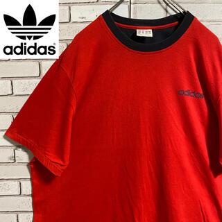 アディダス(adidas)の90s 古着 アディダス XL ビッグシルエット 常田大希 ゆるだぼ(Tシャツ/カットソー(半袖/袖なし))