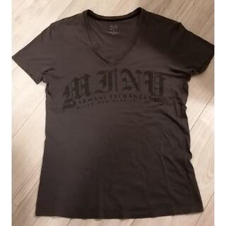 アルマーニエクスチェンジ(ARMANI EXCHANGE)のアルマーニエクスチェンジ Vネック Tシャツ ダークグレー(Tシャツ/カットソー(半袖/袖なし))