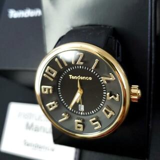 テンデンス(Tendence)の美品 テンデンス ラウンドガリバー T0430043(腕時計(アナログ))
